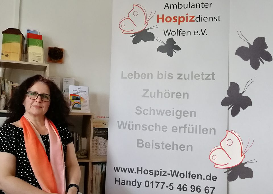 Display Ambulanter Hospizdienst